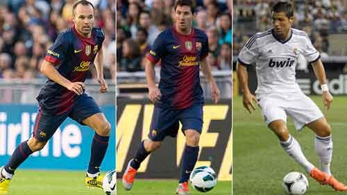 Messi lại đánh bại Ronaldo - 1
