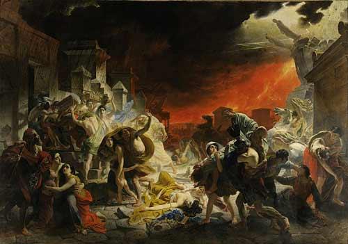 Ngày tận thế tang thương trong hội họa - 1