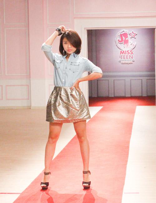 Thí sinh Miss Teen tự tin diễn catwalk - 1