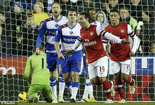 Reading - Arsenal: Pháo nổ liên hồi - 1