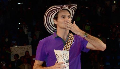 Federer hạ gục Tsonga ở Colombia - 1