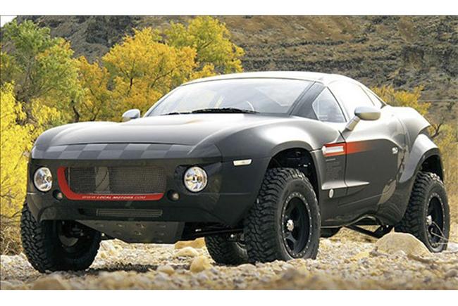 Local Motors Rally Fighter với động cơ dầu (diesel) dung tích 3.0 lít công suất 265 mã lực, dễ dàng vượt trở ngại - Ảnh: MSN.