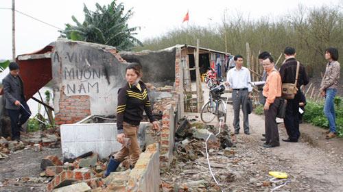 Vụ Tiên Lãng: Phó CT huyện ra lệnh phá nhà - 1