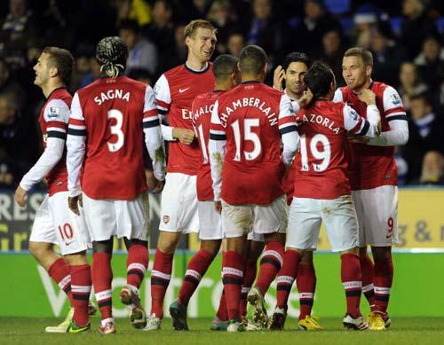 Arsenal đại thắng, Wenger mãn nguyện - 1