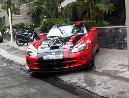 Hàng hiếm Dodge Viper xuất hiện ở Quảng Ninh - 1