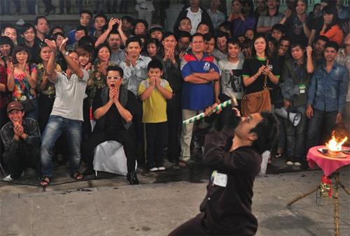 Màn biểu diễn rùng rợn tại VNs Got Talent - 1