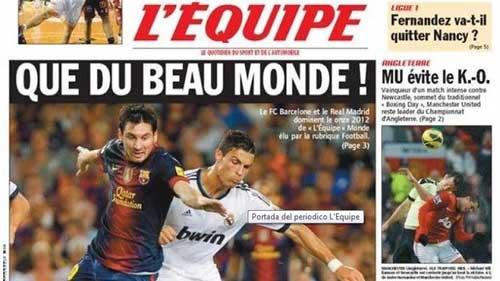 Barca, Real áp đảo trong đội hình 2012 - 1