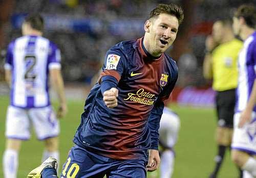 Messi vượt CR7 xuất sắc nhất TG 2012 - 1