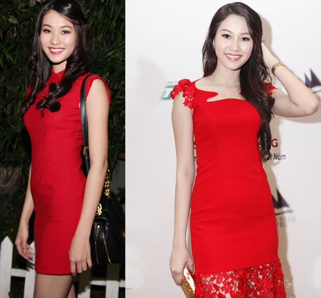Hoa hậu Việt Nam 2012 Thu Thảo trong sắc váy quyến rũ