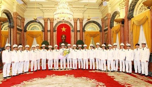 Bộ trưởng Trần Đại Quang thăng hàm Đại tướng - 1