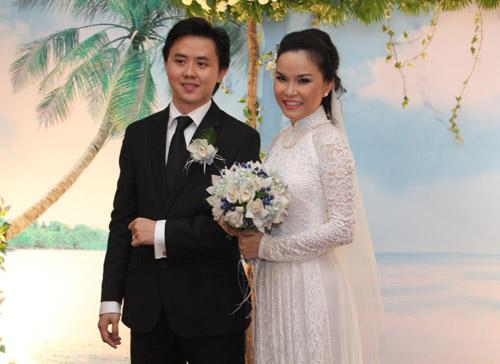 Thu Ngọc (Mây Trắng) rạng rỡ ngày cưới - 1