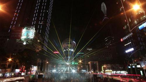 HN, TPHCM chào 2013 với ánh sáng, nhạc nước - 1