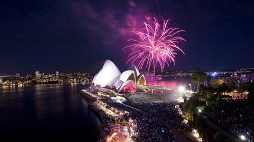 Thế giới tưng bừng đón năm mới 2013 - 1