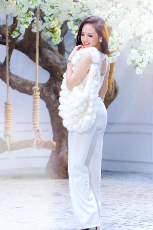 Mặc đẹp như Ngọc Trang khúc giao mùa - 1