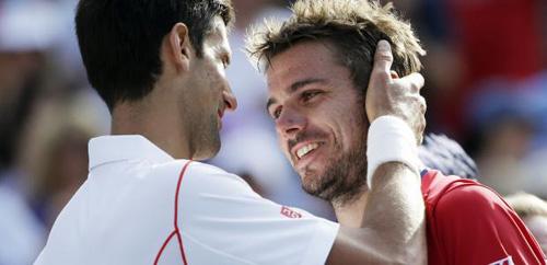 """Djokovic """"nhớ"""" đánh đôi - 1"""