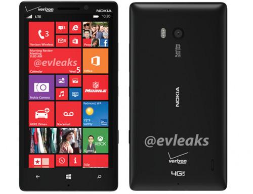 Nokia Lumia 929 đen và trắng ra mắt tháng 11 - 1