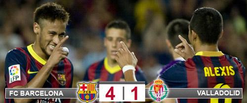 Barca–Valladolid: Không Messi, có Neymar - 1