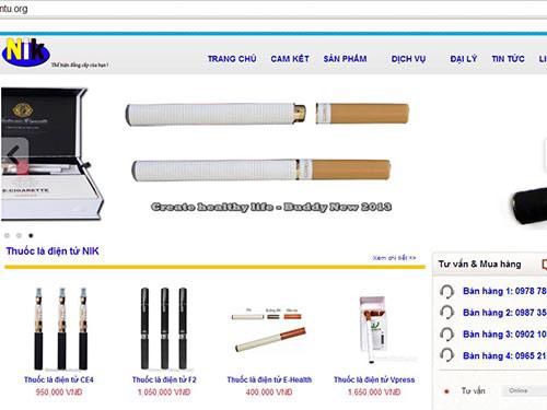 Chưa quản được thuốc lá điện tử - 1
