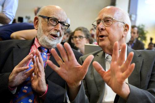 """Tác giả """"Hạt của Chúa"""" đoạt giải Nobel Vật lý - 1"""