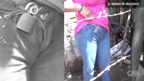 """Mexico: Giải cứu cô gái đeo """"khóa trinh tiết"""" - 1"""