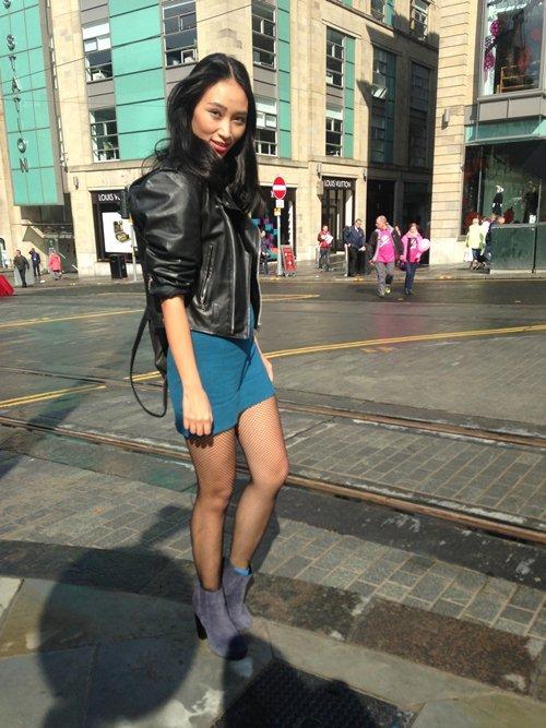 Nhan sắc Á tại các kinh đô thời trang - 1