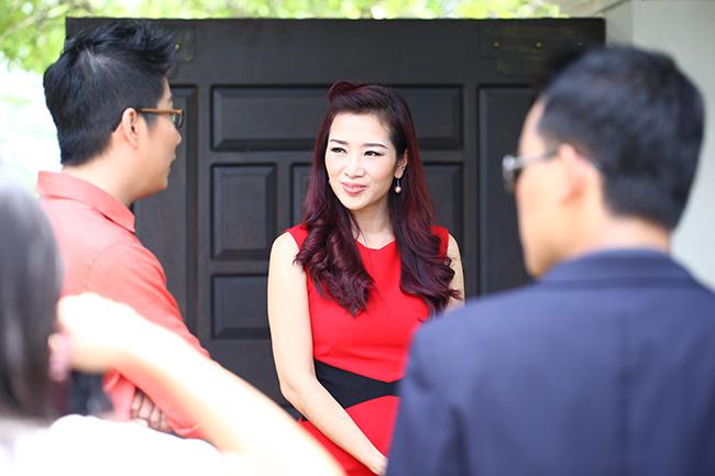Hiện tại, Thu Hương chủ yếu tập trung cho công việc kinh doanh và chăm sóc gia đình.
