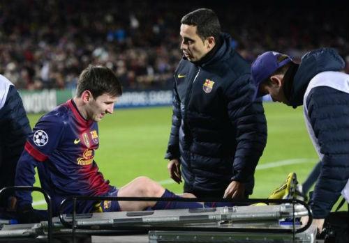 Messi chấn thương là vì nghỉ nhiều - 1