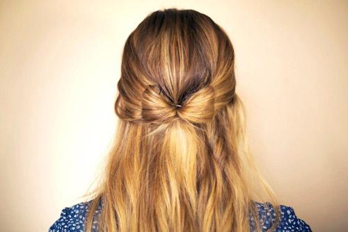 Hướng dẫn tết tóc đi tiệc dễ thương - 1
