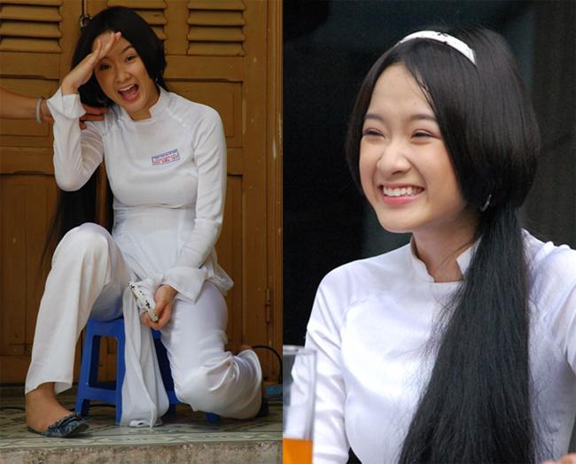 Angela Phương Trinh thuở mới vào nghề còn nguyên nét ngây thơ của cô học trò nhỏ