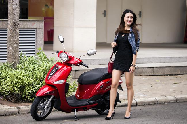 Yamaha vừa trình làng mẫu Nozza phiên bản châu Âu dành cho phái đẹp với thiết kế sang trọng và tinh tế hơn