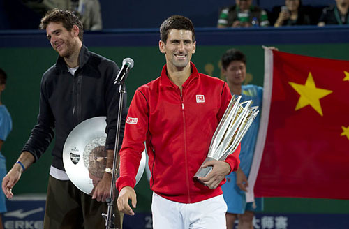 Tennis 24/7: Djokovic sánh ngang Borg - 1