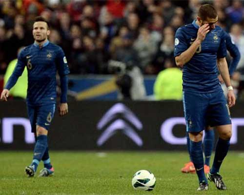 ĐT Pháp: Sóng gió tại vòng play-off - 1