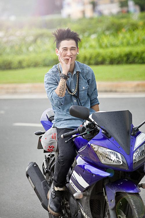Thời trang của anh chàng mê môtô - 1