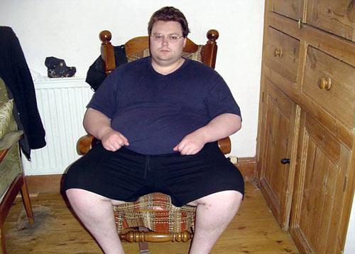 Chàng béo giảm 115 kg để có bạn gái - 1