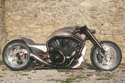 "Harley-Davidson V-Rod ""độ"" cực ngầu - 1"