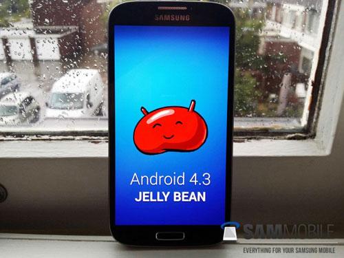 Samsung Galaxy S4 được cập nhật Android 4.3 Jelly Bean - 1