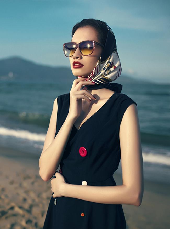 Trương Chi Trúc Diễm là một gương mặt mới nổi trong làng mẫu Việt Nam.