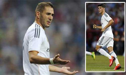 """Real Madrid: Nóng cuộc chiến """"số 9"""" - 1"""