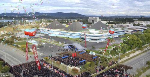 Ảnh: Công viên nước hoành tráng của Triều Tiên - 1
