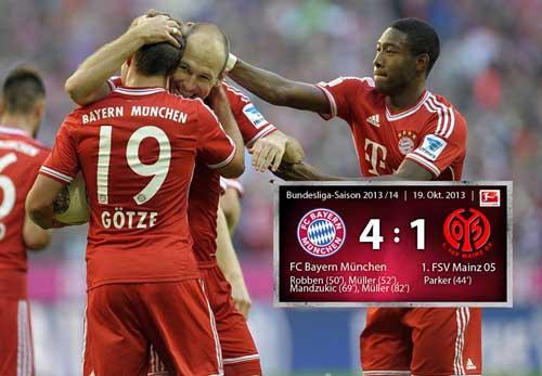 """Robben """"bật"""" Guardiola ngay trên sân - 1"""
