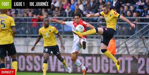 Sochaux–Monaco: Cầm vàng lại để vàng rơi - 1