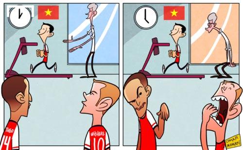 Running Man: Đây là mùa giải của Arsenal - 1