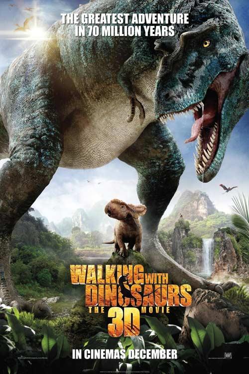 Phim 3D thơ mộng về thời khủng long - 1