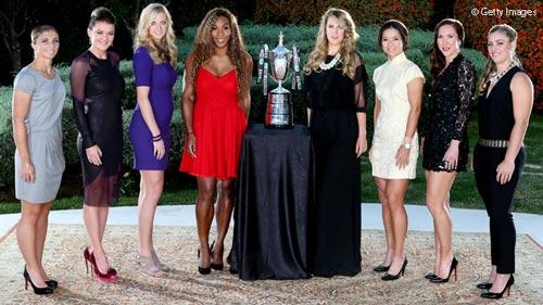WTA Championships: Serena & phần còn lại - 1