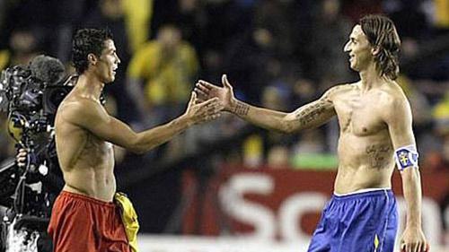 Play-off World Cup: Ronaldo đối đầu Ibra - 1