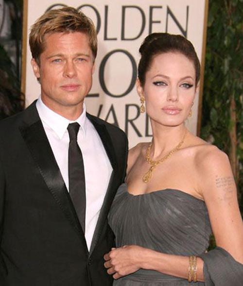 Đám cưới Jolie - Pitt diễn ra dịp Giáng sinh - 1