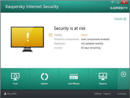 Cập nhật miễn phí Kaspersky Internet Security 2014 - 1