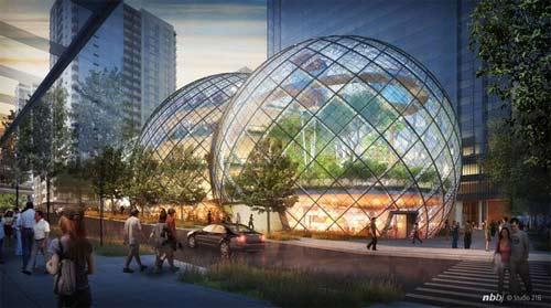 Amazon chi 1,4 tỷ USD xây trụ sở trong mơ - 1