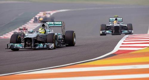 F1 - Indian GP: Chiến thắng thần tốc - 1
