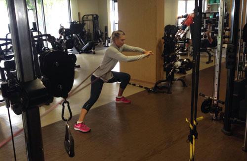 Sharapova ngầm phản pháo tin đồn dính bầu - 1